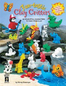 Hot Off The Press - Fun-tastic Clay Critters by Hot Off The Press Inc. $10.95. Kids love creating the 52 delightful characters. Uses Crayola Model Magic.. Ensure Kid's crafting success!. Projects are grouped into themes like Familiar Friends, Zooquarium and Dino Park. Fun-tastic Clay Critters is the first book on the market dedicated to crafting with Crayola; Model Magic; a lightweight, non-toxic modeling material. Projects include everything from bugs and frogs to cats and dogs...