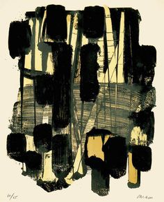 Pierre Soulages (род. 1919г).