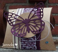 Stampin' Up! - Square Pillow Box - Happy Stampin'