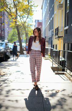 Pants,calça reta, straight, style, look, streetstyle, estilo, outfit, get inspired, get the look, inspire-se, inspiration, inspiração, moda, fashion, chess, xadrez, tartan, trend, tendencia