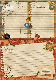 30 Meals and Recipe Card Printables!