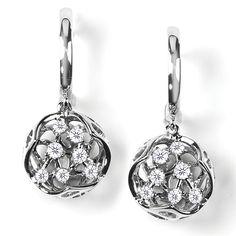 """Sherston"" Contemporary Diamond Earrings - Contemporary Diamond Earrings | Earrings | Diamond Jewellery"