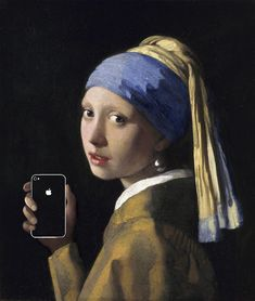 art x smart adds 21st technology onto famous masterpieces