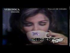 Verónica Castro Comercial Nescafé dentro del programa Revista Musical Nescafé 72.