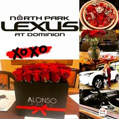 We are all seeing here @lexusdominion!! #happyvalentinesday from everyone at #northparklexusatdominion and congratulations to our #bemine Facebook photo contest winner!!! #bestcustomers #lexuslove #lexusdominion #kahligautogroup #weloveourteam #weloveourowners #lexus #lexuslife #loveyourself