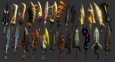 MH3 - All Great Swords by IIReII on deviantART