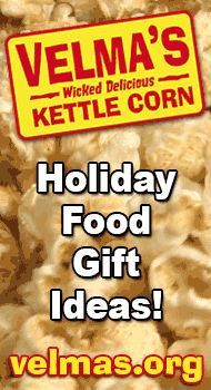 Holiday food gift ideas. Kettle corn makes a yummy holiday food gift idea. $20 #unique #good #best #great #online #inexpensive #cheap #popcorn