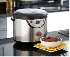 Slow Cooker Crock Pot Steamer Multi 8 In 1 Tefal Cook Rice Porridge Black New Best Rice Cooker, Best Slow Cooker, Cooking Appliances, Small Kitchen Appliances, Cool Kitchen Gadgets, Cool Kitchens, Slow Cooker Reviews, Large Slow Cooker, Multicooker