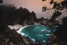 On the Road - West Oceanfront Magazine Fog Photography, Time Lapse Photography, Aerial Photography, Big Sur, Horseshoe Bay Bermuda, State Parks, Sycamore Canyon, State Image, Canyon Road