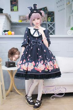 --> Pre-order: Pumpkin Cat ~Spun Sugar Rabbit~ Series --> Sweet JSK, OP, Salopette and match accessories, everything you need is here! --> Learn More: http://www.my-lolita-dress.com/newly-added-lolita-items-this-week/pre-order-pumpkin-cat-spun-sugar-rabbit-series