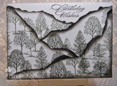 lovely Angela Lorenz, Lovely As A Tree, Stampin Up Stampin Up Anleitung, Boy Cards, Men's Cards, Birthday Cards For Men, Male Birthday, Card Making Tutorials, Fathers Day Cards, Card Making Inspiration, Masculine Cards