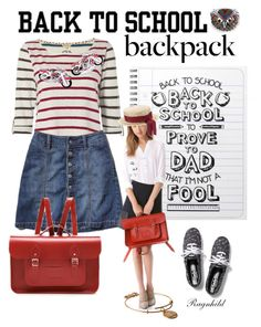 """""""Back to School"""" by ragnh-mjos ❤ liked on Polyvore featuring Keds, Alex and Ani, White Stuff, John Lewis, Bling Jewelry, Jan Leslie and BackToSchool"""