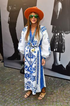 Anna dello Russo - Diesel Black Gold - Front Row - Milan Collections Men SS16 - June 22, 2015