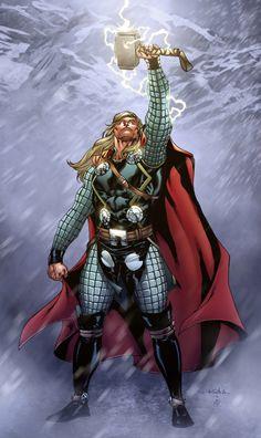 Comic Book Artwork//thor___!!!