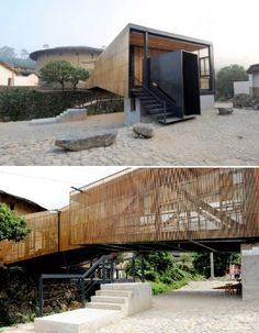 One of the greenest schools-The Bridge in China