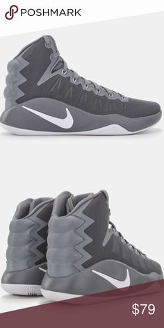 official photos 81f82 a96fb Grey Nike Hyperdunk 2016 Men s Basketball Shoes TB The Nike Hyperdunk 2016  Men s Basketball Shoe features
