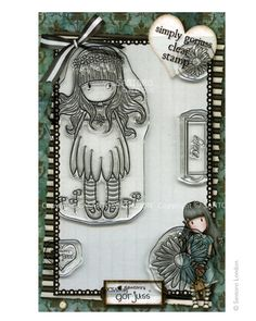 Gorjuss Clear Stamps