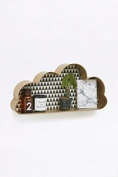 Gold Cloud Shelf