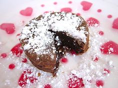 chocolate lava cake for two (or one) - Budget Bytes $0.51 serving