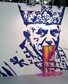 ZANE LEWIS http://www.widewalls.ch/artist/zane-lewis/ #contemporary #art #graffiti