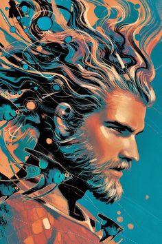 DC COMICS, Aquaman #33 VARIANT - JOSHUA MIDDLETON