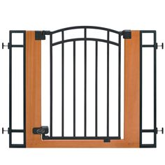 Summer Infant Wood and Metal Walk-Thru Baby Gate *** Unbelievable  item right here! (This is an amazon affiliate link. I may earn commission from it)