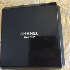 Chanel makeup mirror Authentic Chanel mirror - look in style has black ties that say Chanel - brand new and wrapped in white Chanel paper. CHANEL Accessories