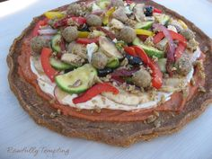 Raw, Living Buckwheat Pizza