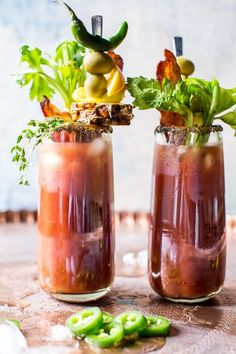 Say hello to the best sweet and spicy Bloody Mary. The post Jalapeño Bloody Mary. appeared first on Half Baked Harvest. Best Bloody Mary Mix, Best Bloody Mary Recipe, Bloody Mary Bar, Bloody Mary Recipes, Cocktail Drinks, Cocktail Recipes, Margarita Recipes, Summer Cocktails, Classic Cocktails