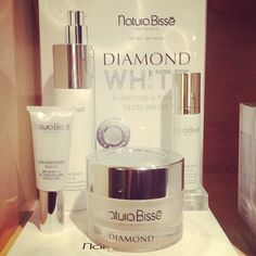 The jewel of skincare, stop in our #BWSpa to try Natura Bisse's latest line: Diamond White