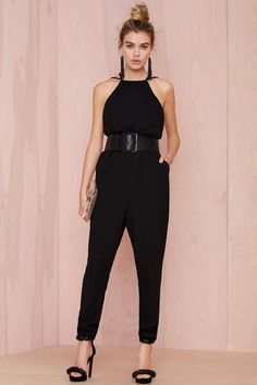 The Fifth Giving In Cutaway Jumpsuit