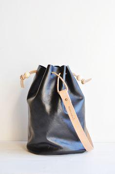 Wayfare Drawstring Bag | Black