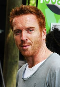 Damian Lewis--thank you for being a redheaded male heartthrob. Quite a feat.