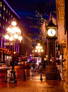 Vancouvers historic Gasotwn district houses the landmark steamclock by rae tucker photography Vancouver City, Toronto City, Westminster, Canada Information, By Plane, The Province, Sunshine Coast, Canada Travel, British Columbia
