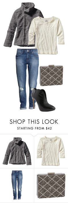 """""""Casual Chic"""" by shoebuy ❤ liked on Polyvore featuring Patagonia, H&M, J. Furmani and Nine West"""