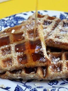 french toast in the waffle iron... waffle toast!