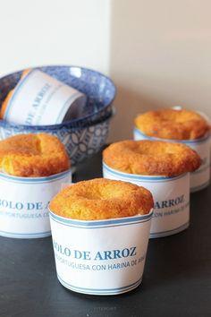 BOLO DE ARROZ/ Torta di riso