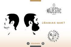 En promedio, la #barba crece un centímetro al mes. #beard #majestusa #alpha #proud #majestic #bálsamo #barbaybigote