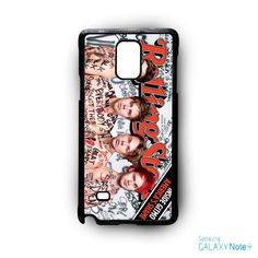 5 SOS Naked Rolling Stone for phone case Samsung Galaxy Note 2/Note 3/Note 4/Note 5/Note Edge