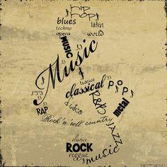 Music Note Art by Anna Quach - at AllPosters.com.au