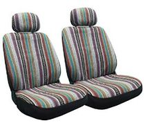 Amazon.com: Baja Inca Seat Covers Pair Front Row Saddle Blanket For Toyota Camry: Automotive