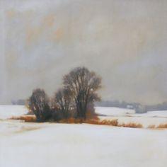 Winter Field, 30x30, 2012