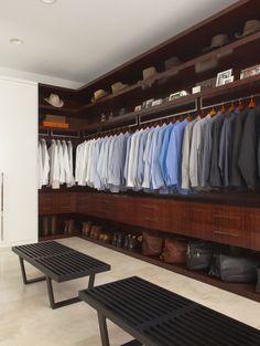 vestidor masculino