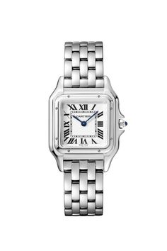 Panthère de Cartier Stainless Steel Watch  ad wearethebikerstore.com   fashion  style  love  art  gifts  biker  menswear  women  homedecor   leathercraft   ... 683e2a9abb