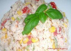 rýžový salát (možný i jako příloha)