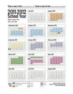 printable calendar for 2011-2012 school year