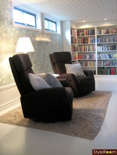 Gillestuga/Bibliotek - Ett inredningsalbum på StyleRoom