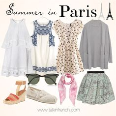 How to pack for your vacation in France