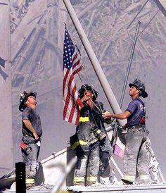 Brave heroes.