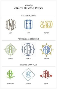 Monogram Cheatsheet by tommie